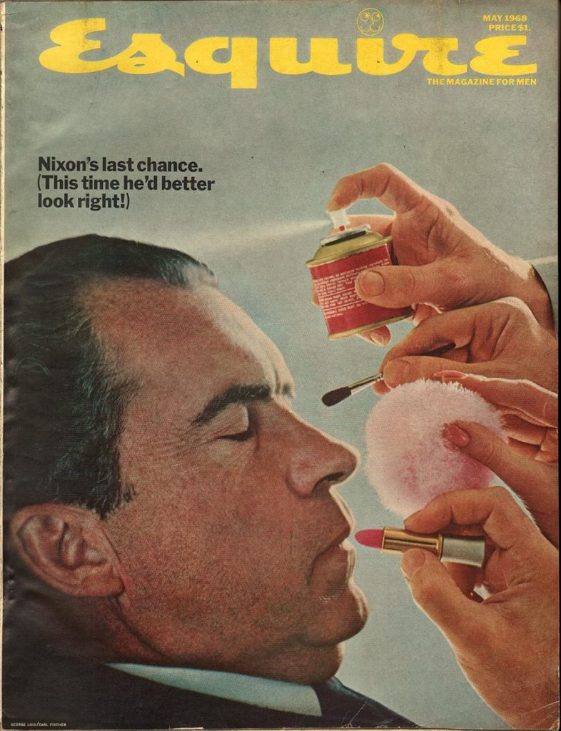 Esquire's May 1968 cover.
