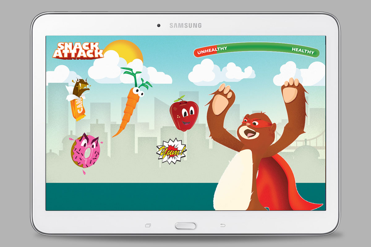 Snack Attack android game