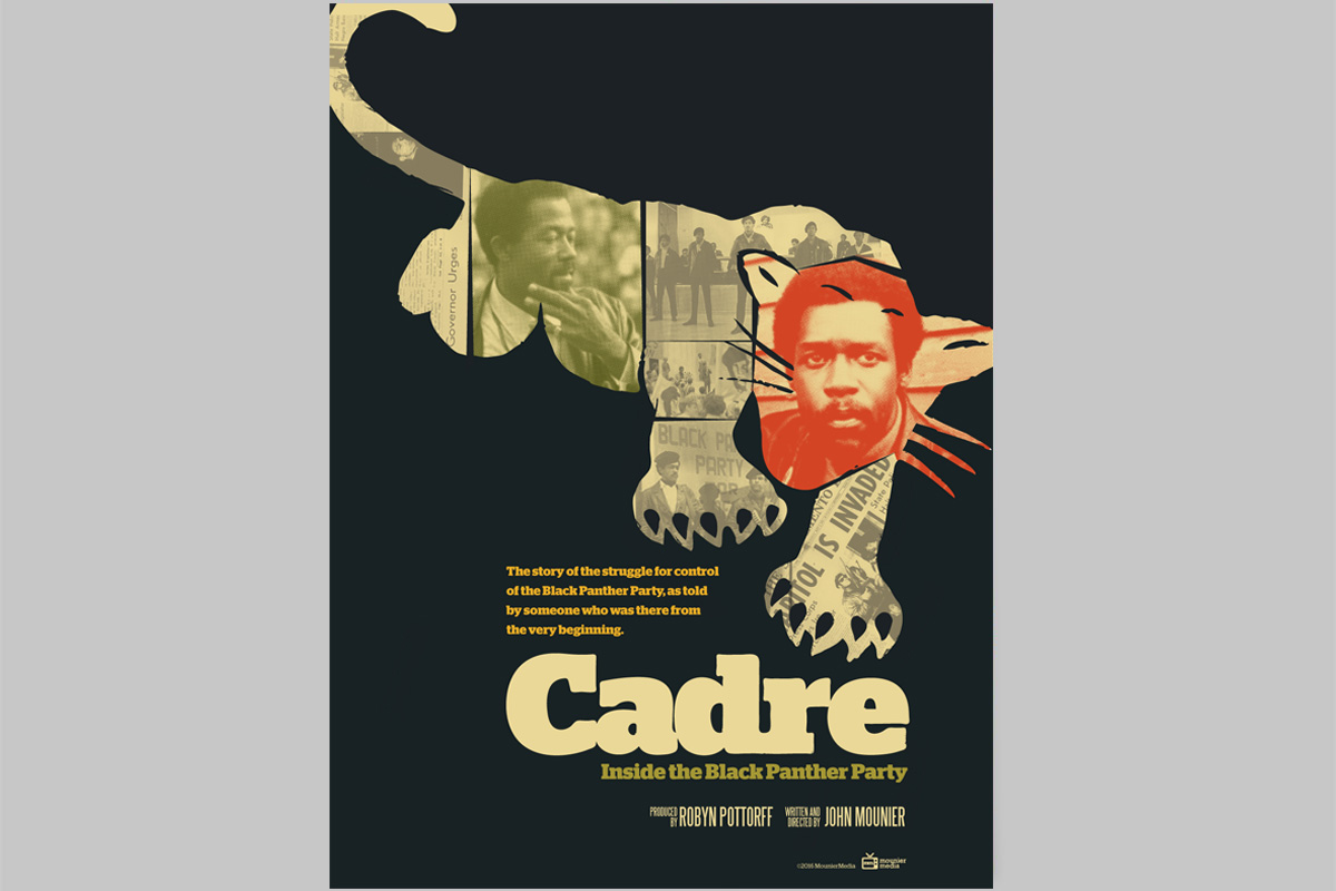 Poster for Cadre: Inside the Black Panther Party