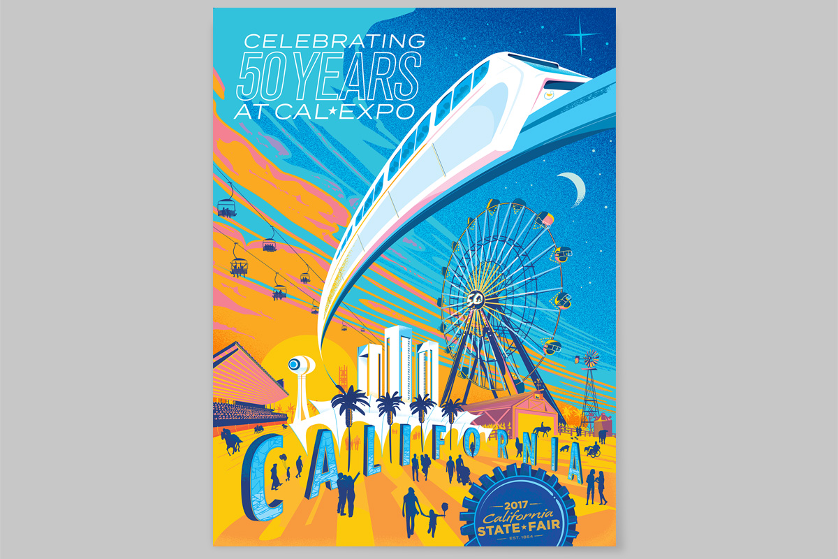 California State Fair 2017 Poster