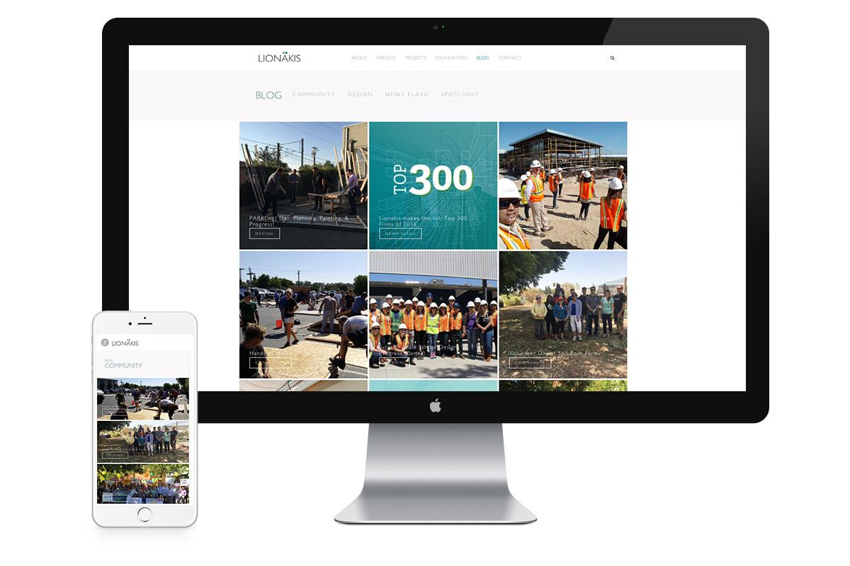 Lionakis website