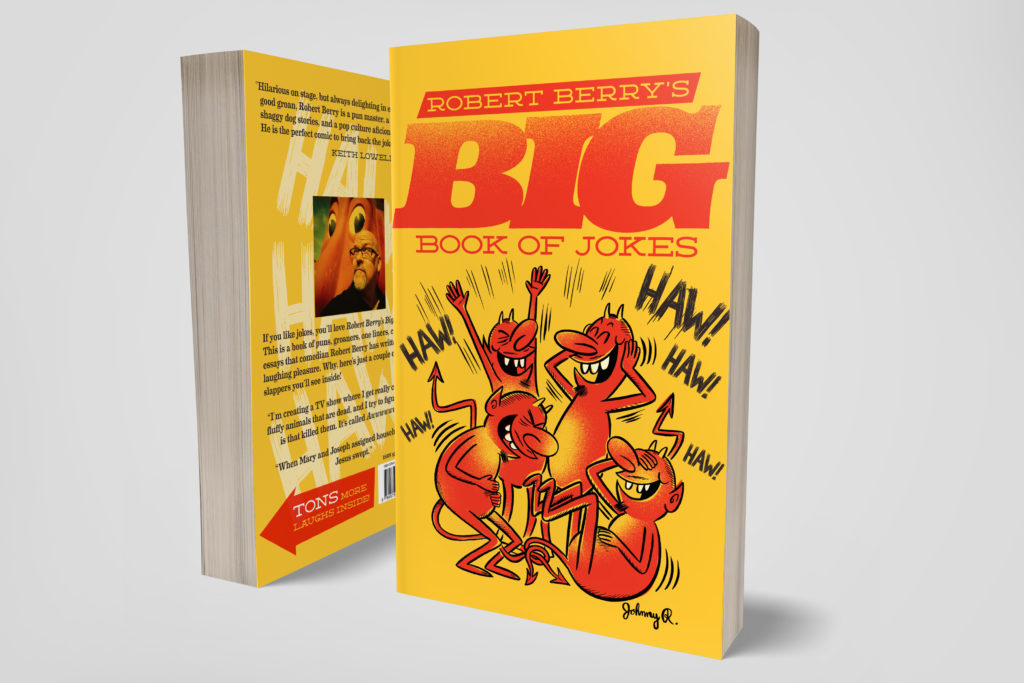 Robert Berry's Big Book of Jokes cover