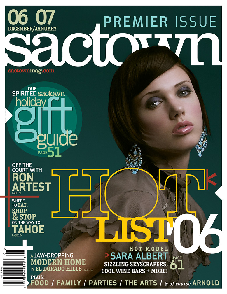 Sactown magazine's premier issue 2006