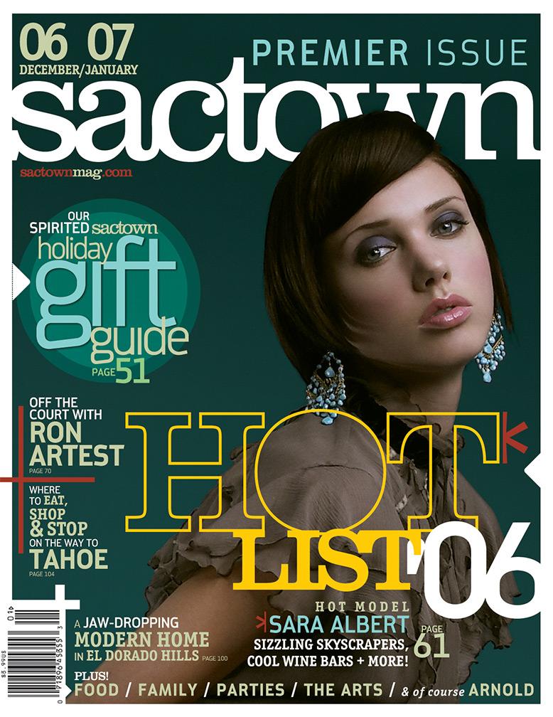 Sactown magazine's premier issue 2006