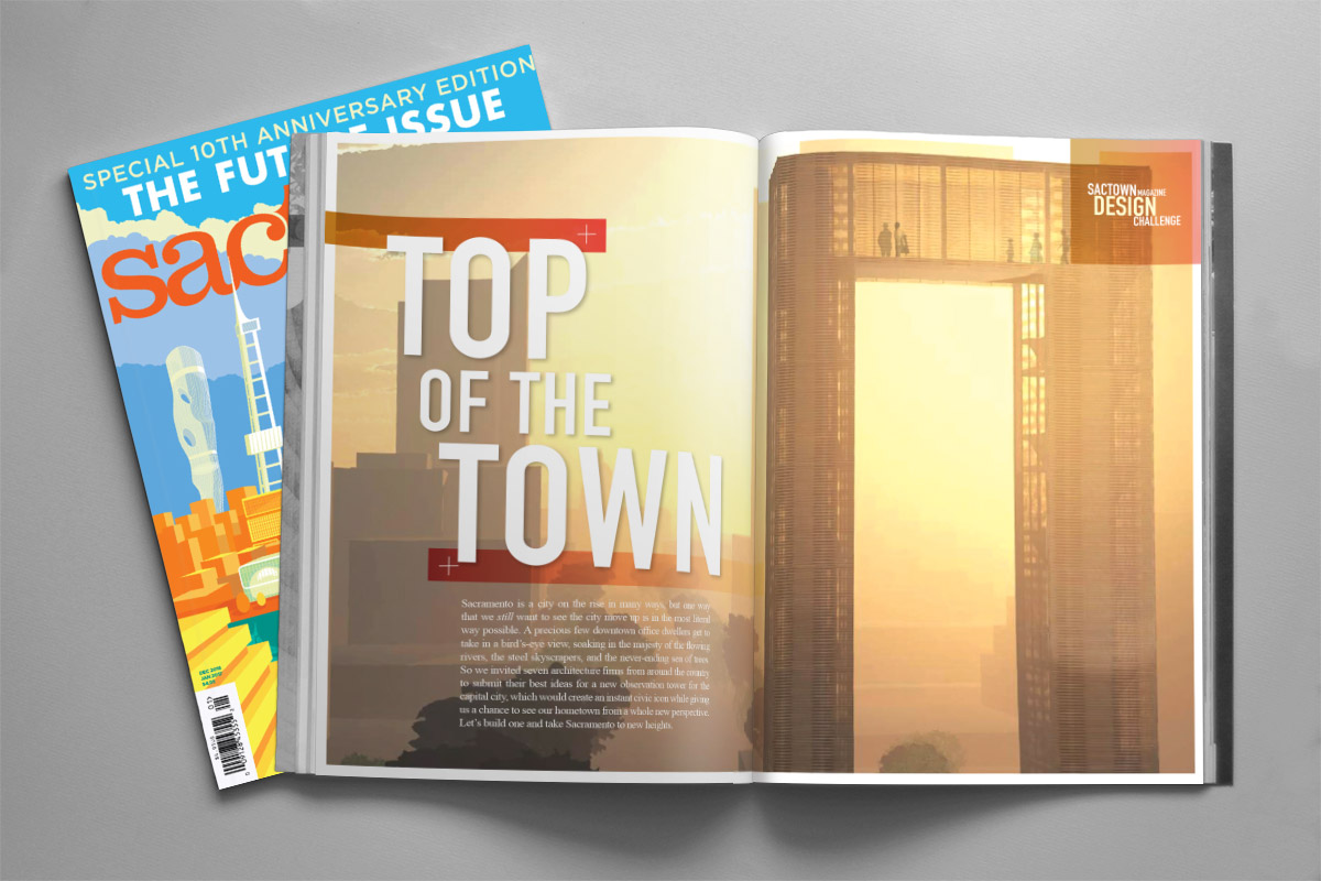 Sactown Magazine - Top of the Town layout - Dec/Jan 2017